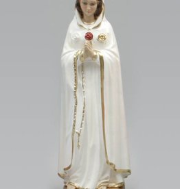 Moshy Brothers, Inc 30 cm Rosa Mystica Italian Plaster Statue