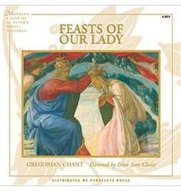 Paraclete Press Feasts of Our Lady Gregorian Chant CD