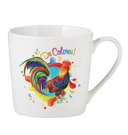 Sips Drinkware Ceramic Mug - De Colores