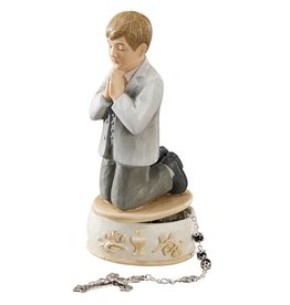 "Avalon Gallery 6"" Boy First Communion Keepsake Box"