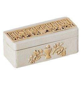 "Avalon Gallery 2"" Remembrance First Communion Keepsake Box"