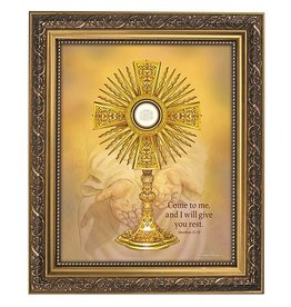 Gerffert Come to Me and I will Give You Rest Monstrance Framed Print