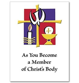 The Printery House As you Become a Member of Christ's Body Card