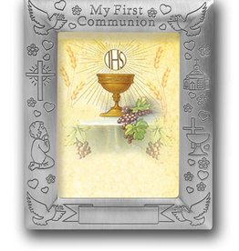 WJ Hirten My First Communion Personalizable Picture Frame