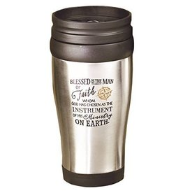 "Abbey Press ""Blessed is the Man"" Travel Mug"