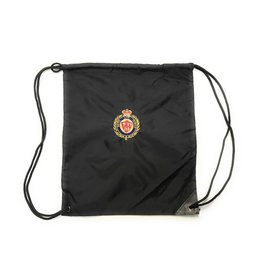 Faith Life Family Faith Life Family Black Cinch Pack With Draw Cord Closure