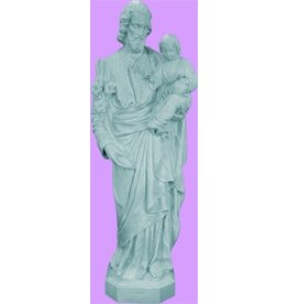 Space Age Plastics St. Joseph Granite Statue
