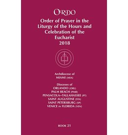 Paulist Press 2018 Ordo Book 21: Order of Prayer in the Liturgy Of The Hours And Celebration Of The Eucharist for Miami, Orlando, Palm Beach, Pensacola-Tallahassee, St. Augustine, St. Petersburg, Venice.