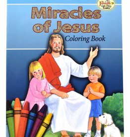 St. Joseph Coloring Books Miracles of Jesus Coloring Book