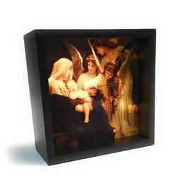Simply Catholic Light Box Art Home Decor Song of the Angels