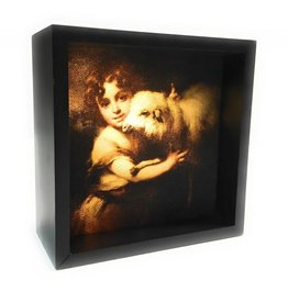 Simply Catholic The Young St. John with Lamb Light Box