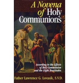 Tan Books A Novena of Holy Communions: According to the Effects of Holy Communion and the Eight Beatitudes