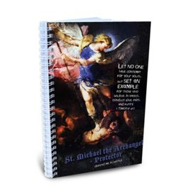 Full of Grace USA Teen Chastity Journal for Boys - St Michael 5.5 x 8.5