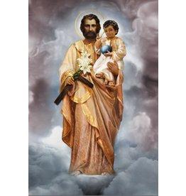 Thomas Valle Thomas Valle 8 X 12 St. Joseph and the Child Jesus Print