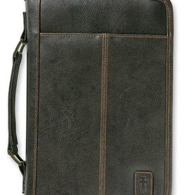 Zondervan Aviator Leather-Look Brown Extra Large Book and Bible Cover