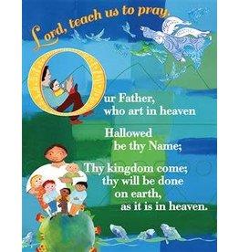 """Paraclete Press 8.5"""" x 11"""" Laminated Lord's Prayer Card"""