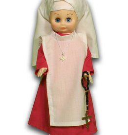 ABCatholic Holy Spirit Adoration Nun Doll
