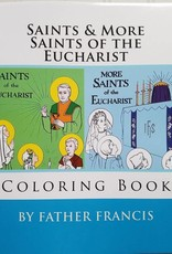 St. Jerome Library Saints & More Saints of the Eucharist Coloring Book