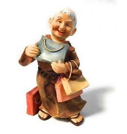 Abbey Press Friar Macy the Shopper Fellowship of Friars Figure