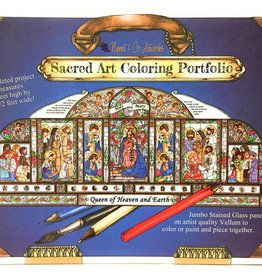 Nippert & Co. Artworks Sacred Art Coloring Portfolio - Queen of Heaven and Earth