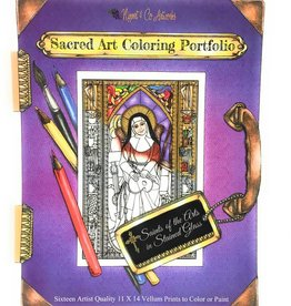 Nippert & Co. Artworks Sacred Art Coloring Portfolio - Saints of the Arts