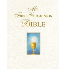 Saint Benedict Press My First Communion Bible (White)