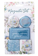 Christian Art and Gifts Grace Upon Grace Magnetic Set