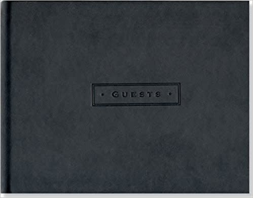 Peter Pauper Press Guest Book - Classic Black