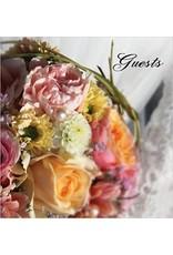 Angelis Publications Wedding Guest Book (Hardback)