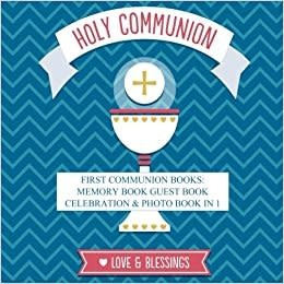 Spring Arbor First Holy Communion Photo and Memory Book In 1
