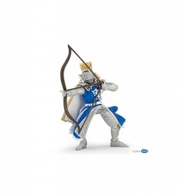 Papo Blue Dragon King with Bow and Arrow Knight