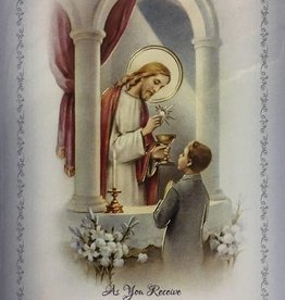 WJ Hirten As You Receive Your First Holy Communion (Boy) Greeting Card