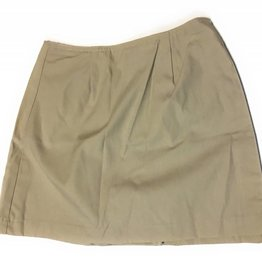 Royal Park Style 9404 Uniform Skort Skirt (Color: 4 Khaki, Size: 10 Girls)