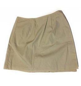 Royal Park Style 9404 Uniform Skort Skirt (Color: 4 Khaki, Size: 10 Girls)