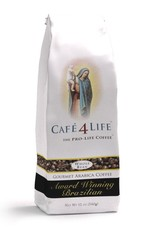 Abbey Roast Cafe 4 Life Brazilian 12 oz (ground)