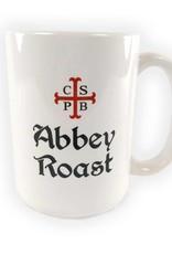 Abbey Roast Abbey Roast Mug 15 oz. White