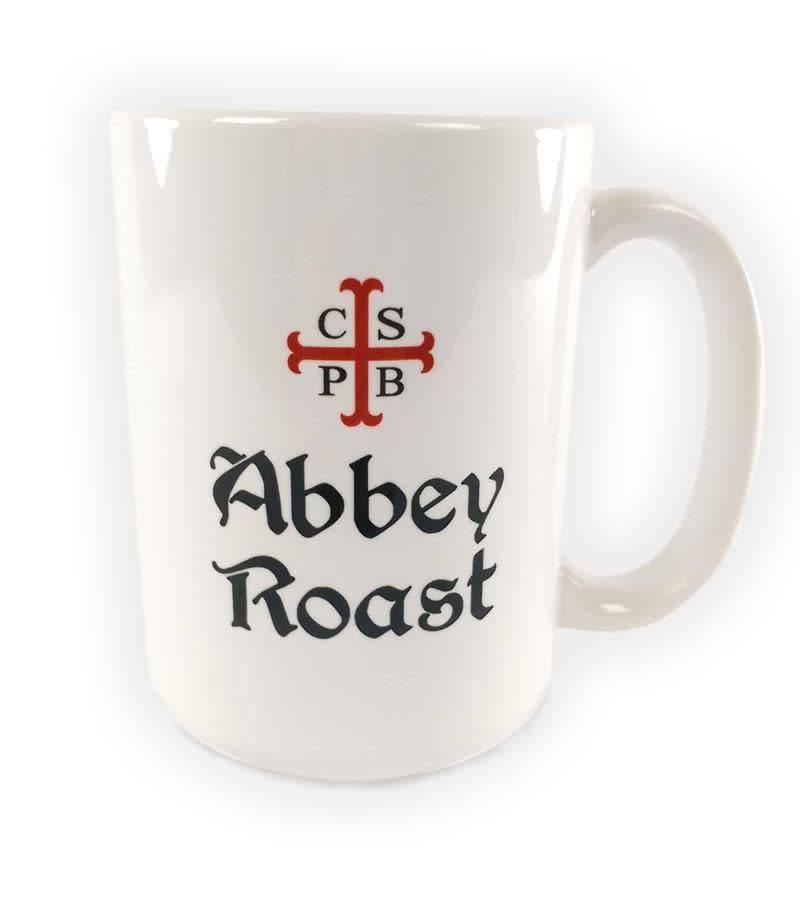 Abbey Roast Abbey Roast Coffee Mug 15 oz. White
