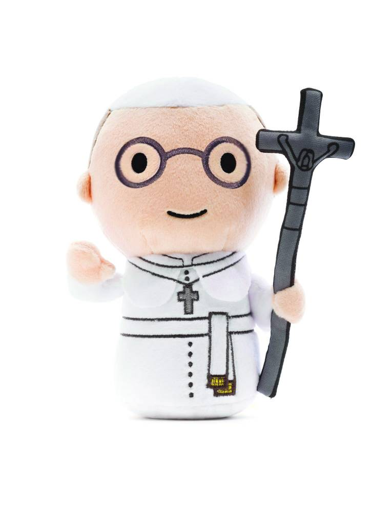 Little Drops of Water Pope Francis Plush Toy