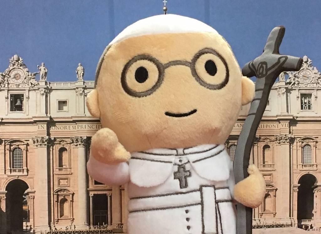Little Drops of Water Little Drops of Water: Pope Francis Plush Toy