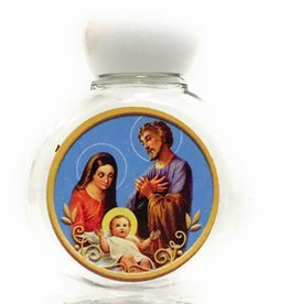 Lumen Mundi Holy Family - Small Holy Water Bottle - Plastic