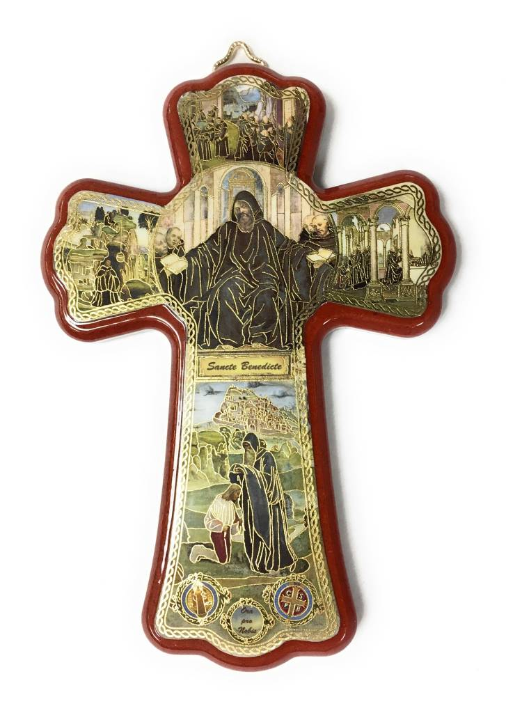"Moshy Brothers, Inc 6"" St Benedict Cross"