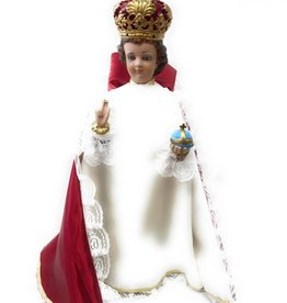 """Moshy Brothers, Inc 24"""" Cement Infant of Prague Statue"""