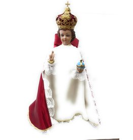 "Moshy Brothers, Inc 25"" Infant Jesus of Prague Statue"