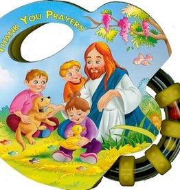 Catholic Book Publishing Corp Thank You Prayers Rattle Board Books