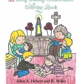 Your Holy Family Ministries 33 Day Family Consecration Coloring Book