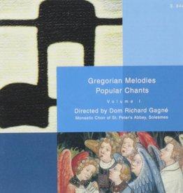 Paraclete Press Gregorian Melodies Popular Chant 1