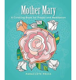 Paraclete Press Mother Mary: A Coloring Book for Pray and Meditation