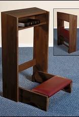 Christian Brands Folding Kneeler - Walnut Finish