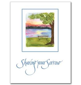 The Printery House Sharing Your Sorrow Sympathy Card