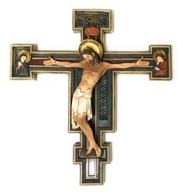 """Roman, Inc 10.25"""" Florentine Crucifix"""